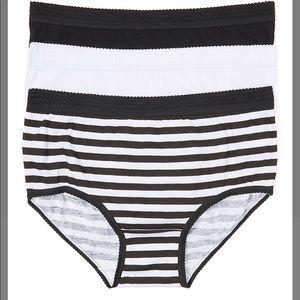 3 Pack Cotton Panties 3X
